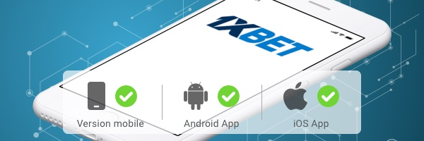 application mobile 1xbet
