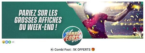 promo unibet 5 euros paris gratuit