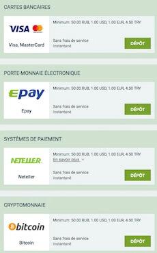 payer en ligne avec melbet