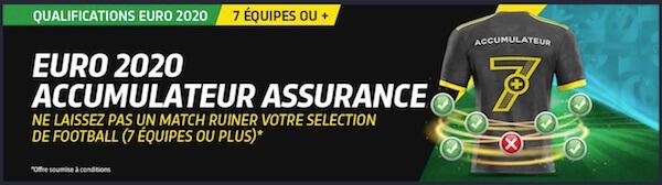 euro 2020 accumulateur assurance premier bet