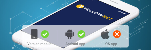 yellow bet application mobile
