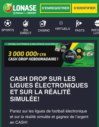 premier bet cagnotte 6,000,000 FCFA