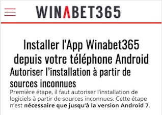 installer winabet365 apk