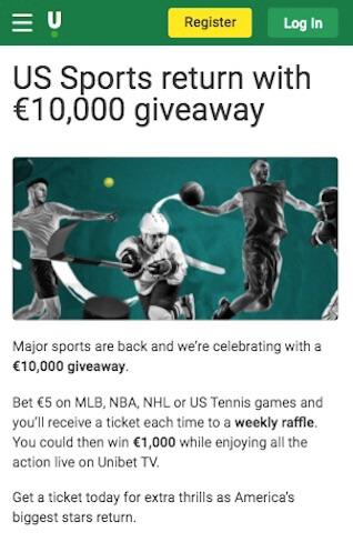 unibet sport us jackpot