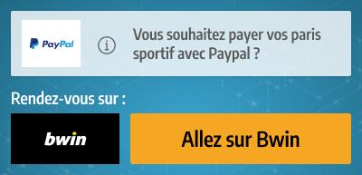 paypal paiement pari