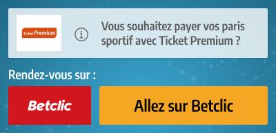 ticket premium paiement pari
