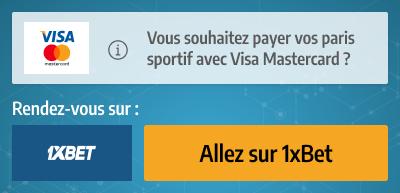 visa mastercard paiement pari
