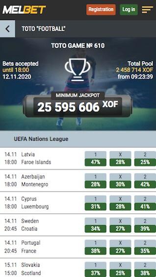 melbet toto uefa nations league