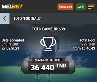 Offre Melbet Toto 14 Tunisie