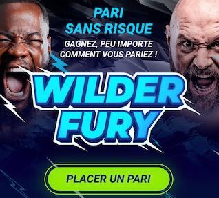 wilder vs fury pari boxe 1xbet